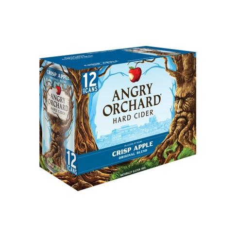 Angry Orchard Crisp Apple Hard Cider - 12pk/12 fl oz Cans - image 1 of 3