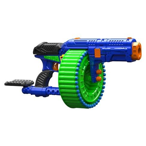 dart zone magnum superdrum blaster target