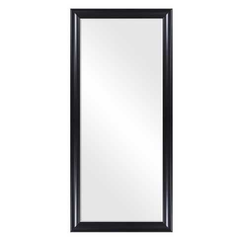 24 Quot X58 Quot Beveled Leaner In Classic Black Polywood Frame