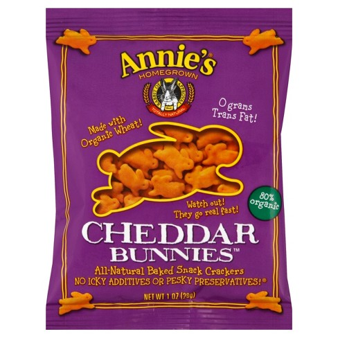 Annie's Cheddar Cheese Cracker - 1oz - image 1 of 1