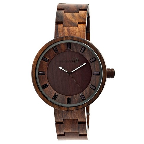 Women's Earth Root Watch with Luminous Hands-Brown - image 1 of 3