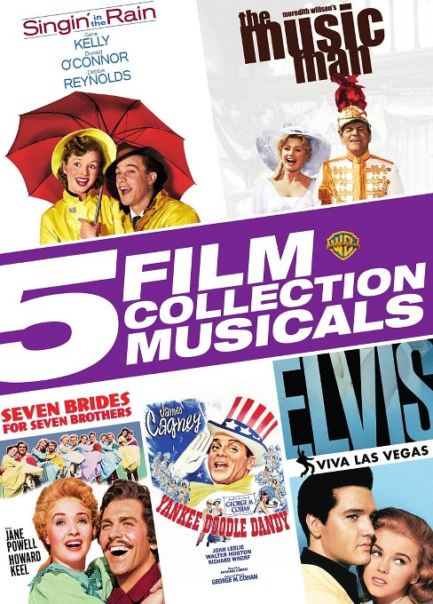 5 film collection:Musicals (DVD) - image 1 of 1