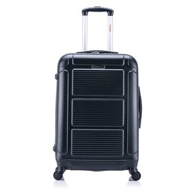 InUSA Pilot 24  Hardside Spinner Suitcase - Black