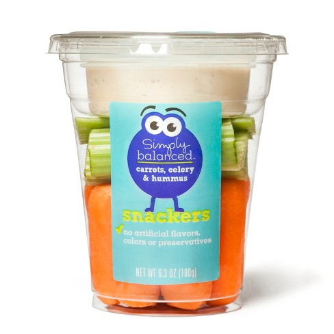 Kids Carrots, Celery and Hummus - 6.3oz - Simply Balanced™ - image 1 of 1