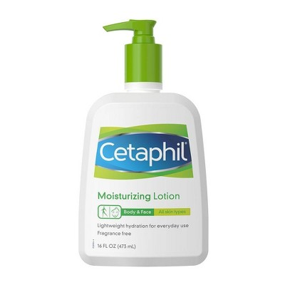Body Lotions: Cetaphil Moisturizing Lotion