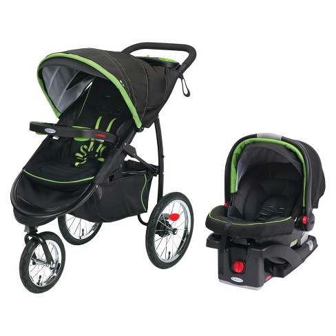 Graco FastAction Jogger Click Connect XT Travel System - Parrot - image 1 of 3