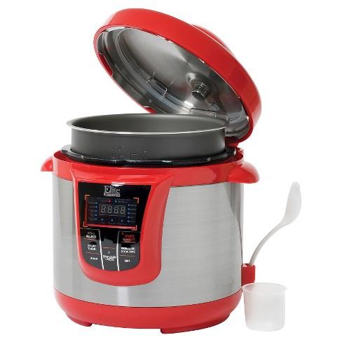 Elite Platinum 8 Qt Electric Pressure Cooker