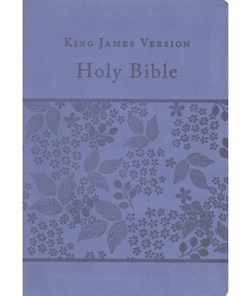 Holy Bible : King James Version, Purple, Gift & Award, Reference Edition (Paperback) - image 1 of 1