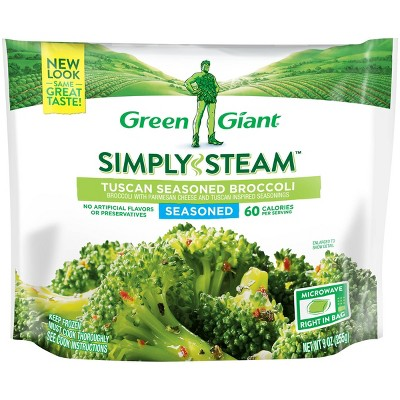 Green Giant Steamers Frozen Tuscan Seasoned Broccoli - 9oz