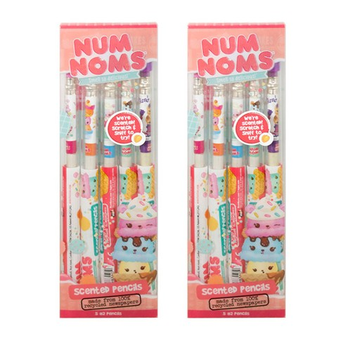 Scentco 2pk Num Noms Smencils Scented Pencils 5ct - image 1 of 3