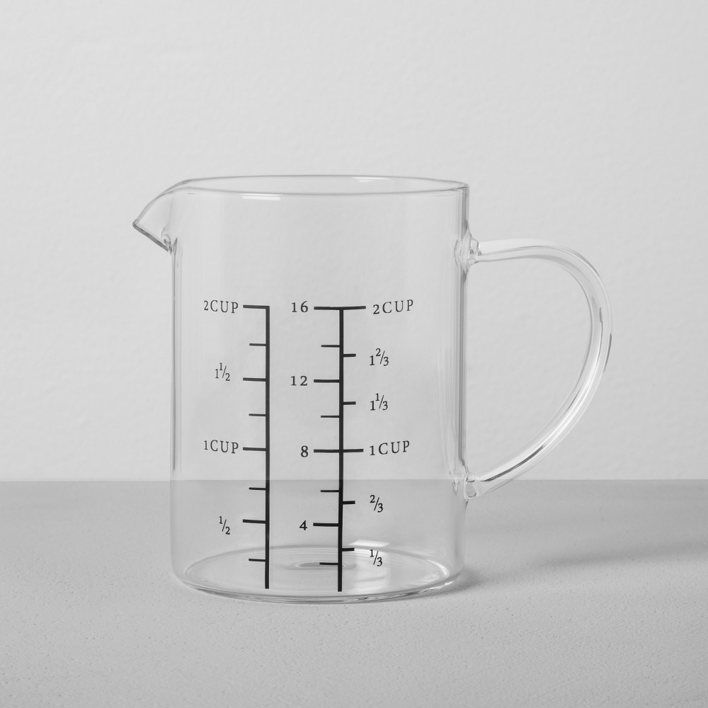 Image of Measuring Pitcher 2 Cup - Clear - Hearth & Hand with Magnolia