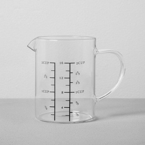 2 Cup Glass Measuring Pitcher - Hearth & Hand™ with Magnolia - image 1 of 2
