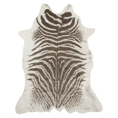 Acadia Zebra Acrylic And Area Rug - Erin Gates by Momeni