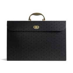 Expanding File Box Black - UBrands