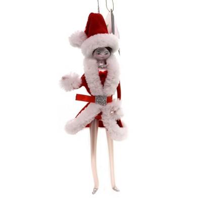 "Italian Ornaments 6.75"" Rockette Ornament Ornament Italian Girl Dancer  -  Tree Ornaments"