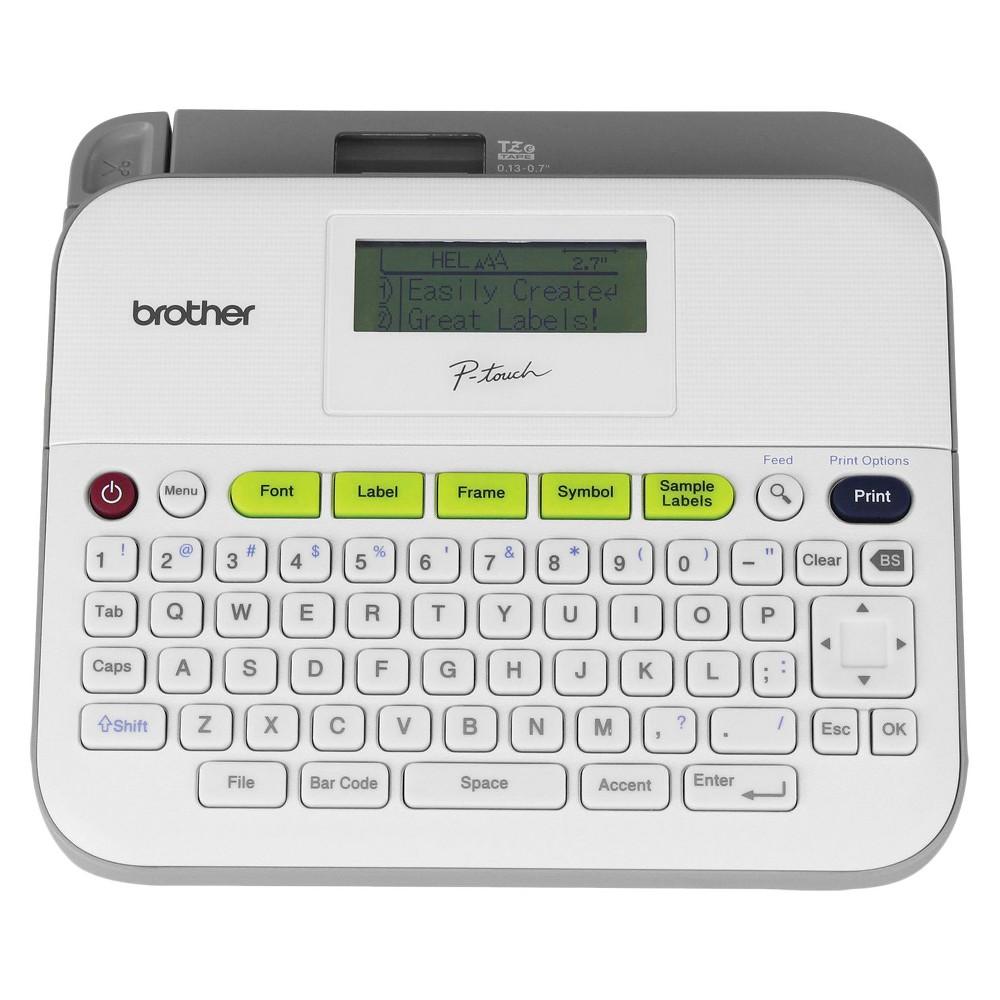 Brother Auto Shut Off Label Printer (PTD400VP)