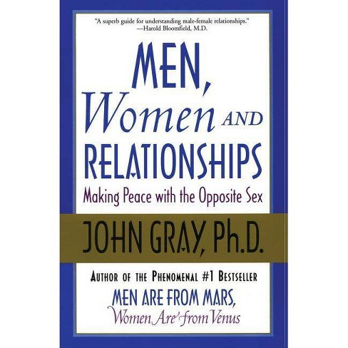 Men, Women and Relationships - by  John Gray (Paperback) - image 1 of 1