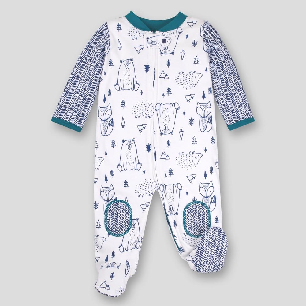 Lamaze Baby Boys' Organic Woodland Sleep 'N Play - Blue Newborn