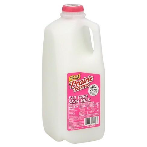 Prairie Farms Skim Milk - 0.5gal - image 1 of 1