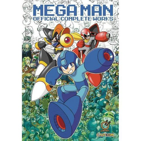 Mega Man: Official Complete Works - by  Capcom & Keiji Inafune (Hardcover) - image 1 of 1