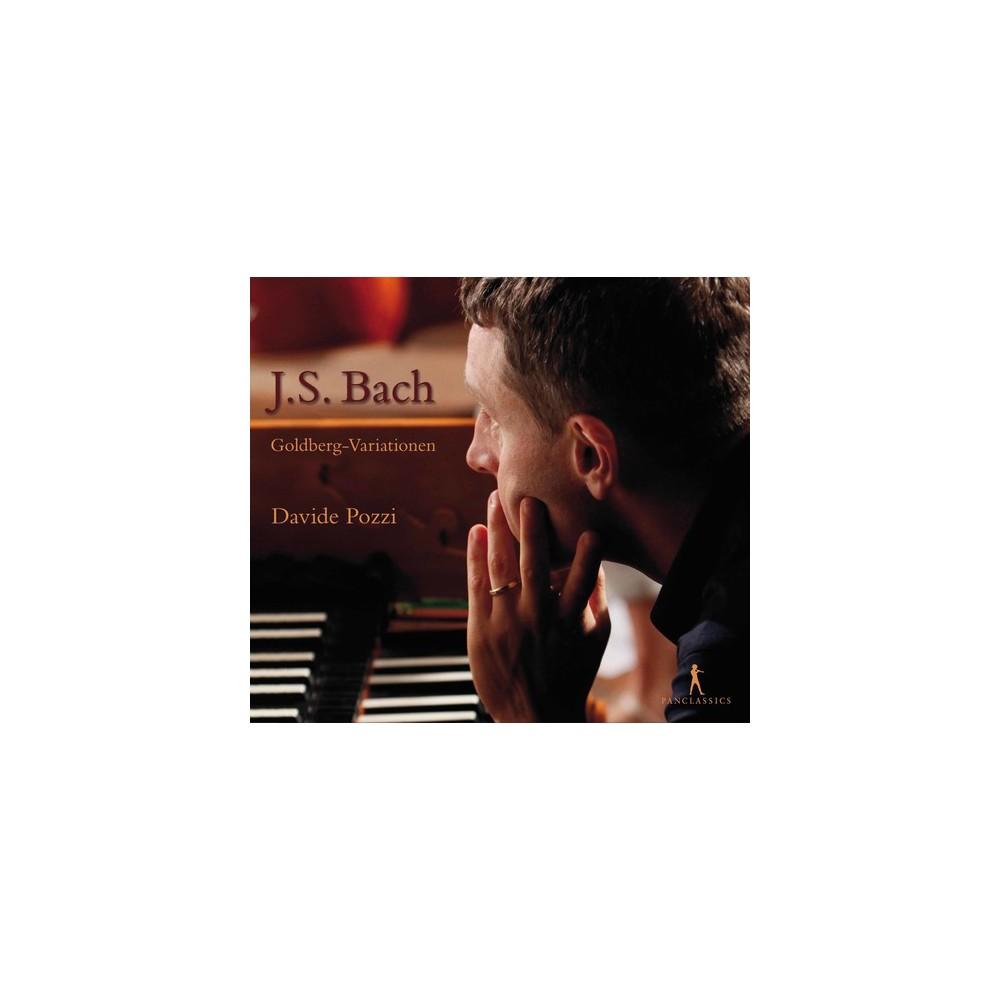 Davide Pozzi - Bach:Goldberg Variationen (CD)