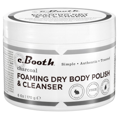 c.Booth Charcoal Foaming Dry Body Polish & Cleanser - 8 oz - image 1 of 1