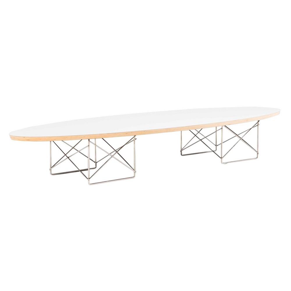 Surf Coffee Table - White - Aeon