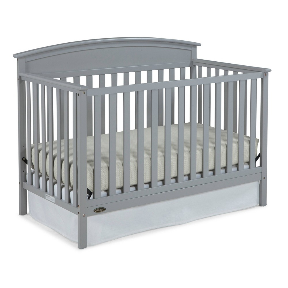 Graco Standard Full-sized Crib - Light Pebble