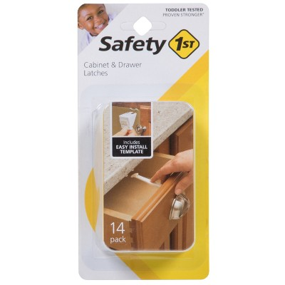 Safety 1st® Cabinet & Drawer Latches - 14pk