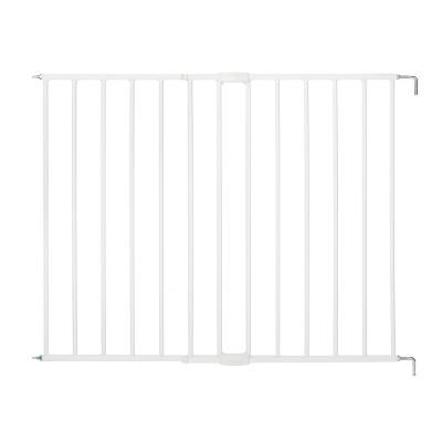 North States™ Essential Stairway Thru Baby Gate - White 24.5-42.0