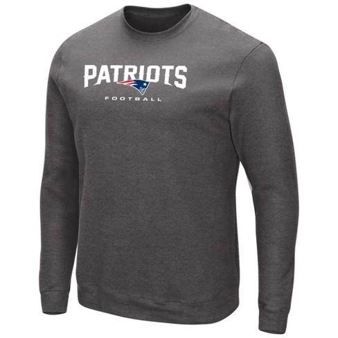 NFL New England Patriots Men s Gray Our Team Long Sleeve Big   Tall ... 451ba66dd