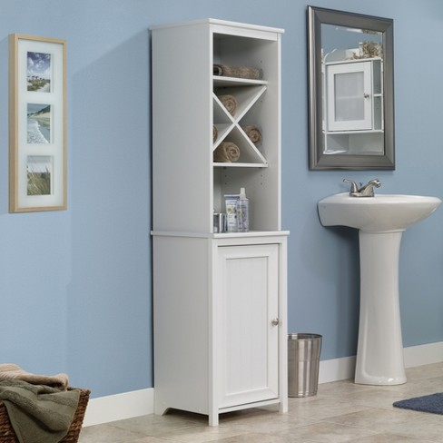 Decorative Storage Cabinets White Sauder Target