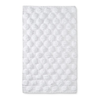 Chunky Dot Woven Bath Rugs And Mats True White Opaque - Project 62™