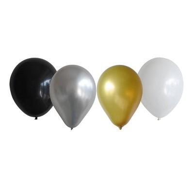 20ct Balloon Pack Plain/Chrome - Spritz™