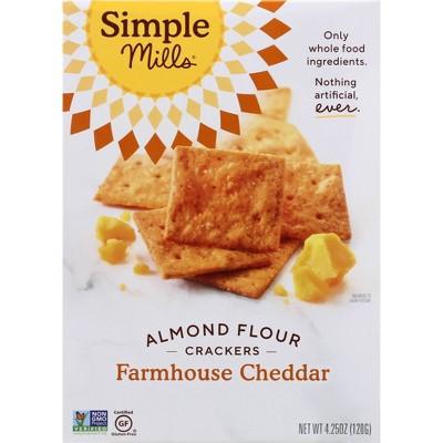 Simple Mills Cheddar - 4.25oz