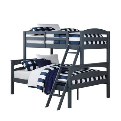 Twin Over Full Melvin Wood Bunk Bed - Room & Joy