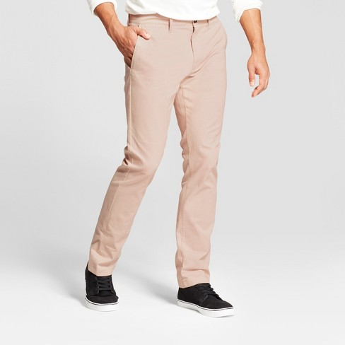 Men's Slim Fit Hennepin Chino Pants - Goodfellow & Co™ Dusty Pink - image 1 of 3