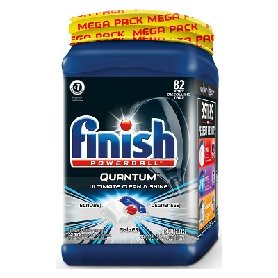 Finish Midnight Blue Powerball Cleaner - 82ct