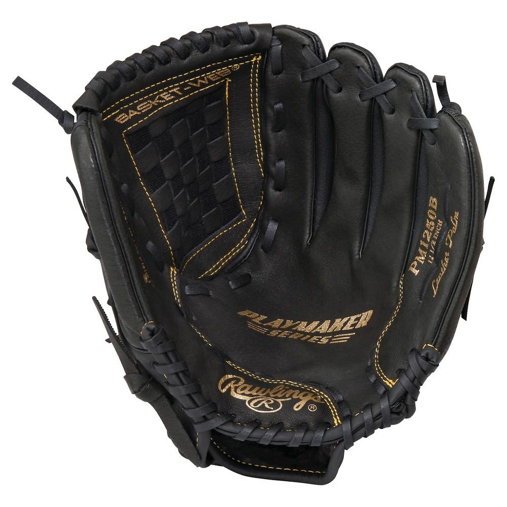 Rawlings Playmaker Series 12.5 Baseball Glove - Black