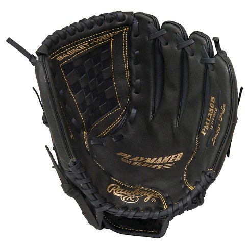 "Rawlings Playmaker Series 12.5"" Baseball Glove  - Black - image 1 of 2"