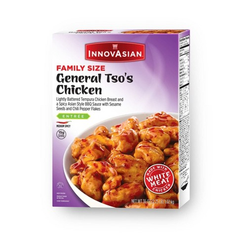InnovAsian Cuisine Family Size General Tso's Frozen Chicken - 36oz - image 1 of 4