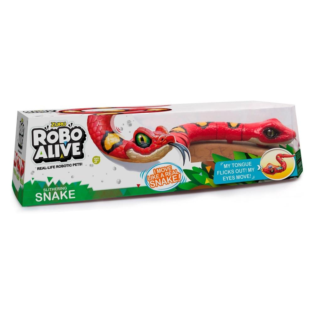 Zuru Robo Alive Snake - Red