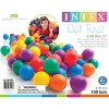 Intex 100-Pack Large Plastic Multi-Colored Fun Ballz - image 4 of 4