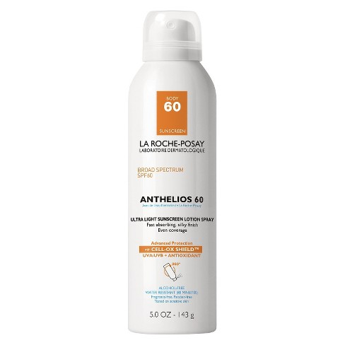 La Roche Posay Anthelios Ultra Light Sunscreen Spray Lotion - SPF 60 - 5 fl oz - image 1 of 3