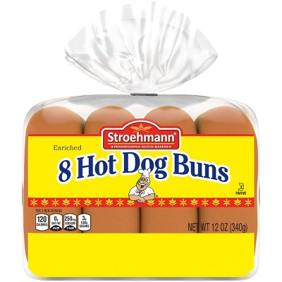 Stroehmann Hot Dog Buns - 12oz