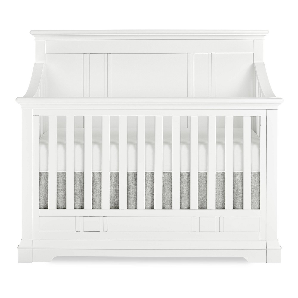 Image of Evolur Parker 5-in-1 Convertible Crib - White