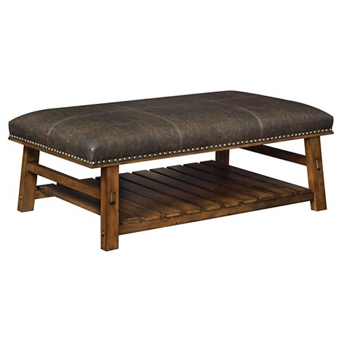Foster Accent Bench - Brown - Christopher Knight Home - image 1 of 2