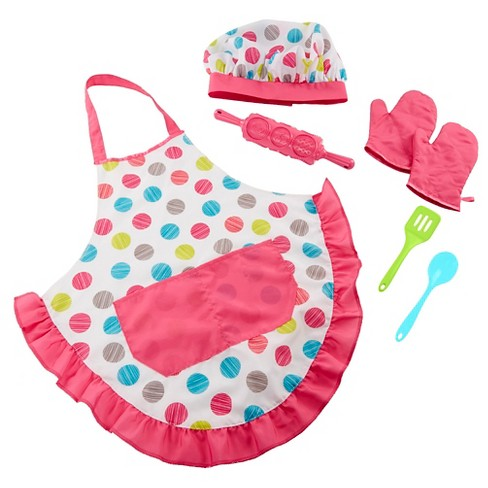 Honestly Cute Let's Get Baking Apron Set - image 1 of 6