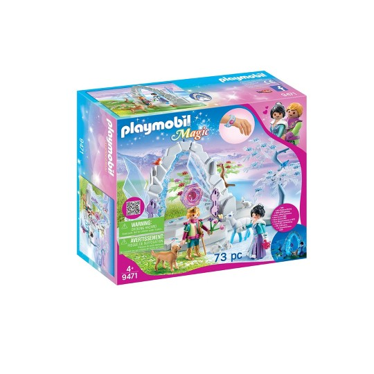 Playmobil Crystal Gate to Winter World image number null
