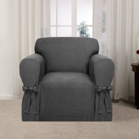 Evening Flannel Chair Slipcover - Kathy Ireland